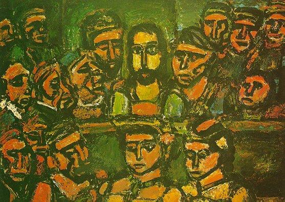 법정에 나온 그리스도